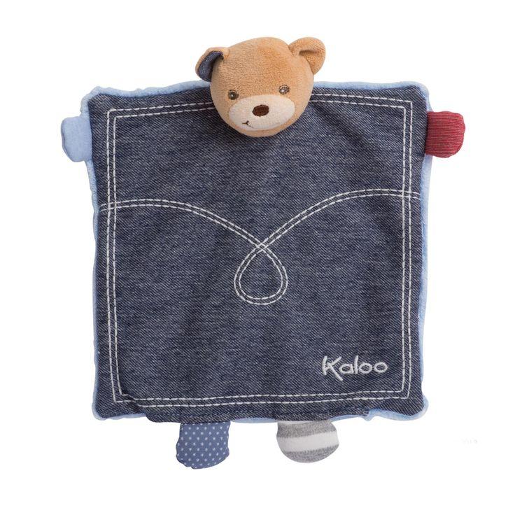 Kaloo Denim Doudou Puppet Bear