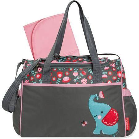Fisher-Price Elephant Duffle Diaper Bag