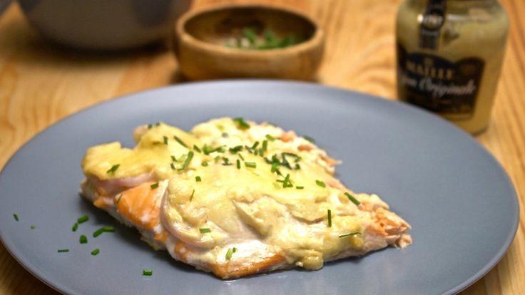 salmão assado no forno com cobertura de queijo derretido: um jantar fácil, rápido e delicioso  - casal mistério