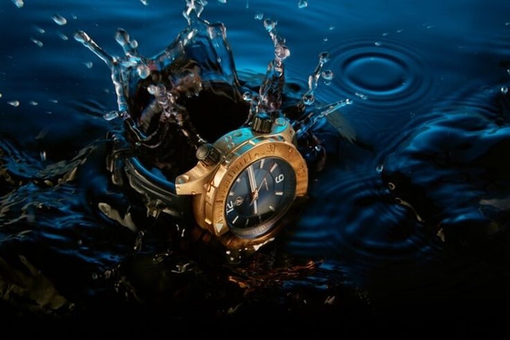 Water Resistant Watch: Zelos Abyss Bronze