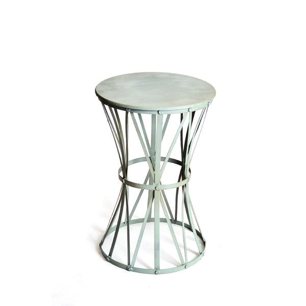 Haven Metal End Table $125