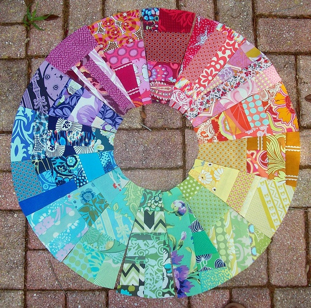 Spectrum Wheel Quilt By Meredith Daniel I Love The Colors In This