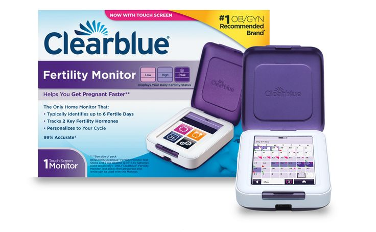 The Clearblue® Fertility Monitor reads simple urine tests to accurately track your personal hormone levels and is designed to identify all your High and Peak fertility days2. It helps you find more fertile days than with any LH only ovulation test, so you have more opportunities to get pregnant each cycle.