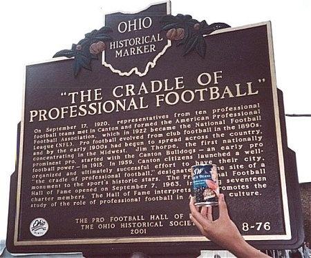 Canton, Ohio Home of the Football HOF