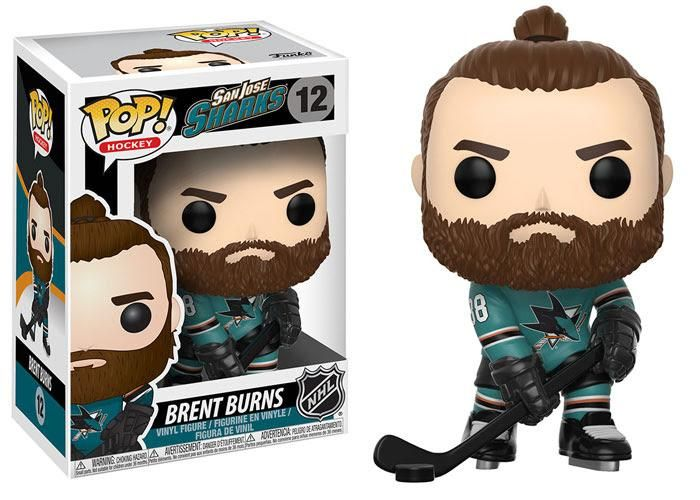 Funko Pop NHL San Jose Sharks Brent Burns (Home Jersey)