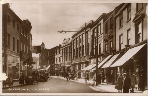 Doncaster, England 1930's.
