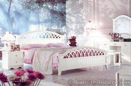 BED SET White Furniture