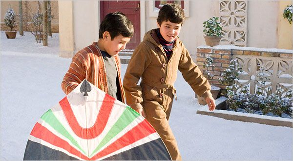 Baba also gave Hassan a kite of his choice for his earlier birthday.