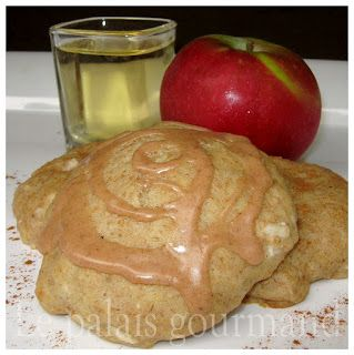 Le palais gourmand: Biscuits au blé entier et aux pommes faibles en sucre