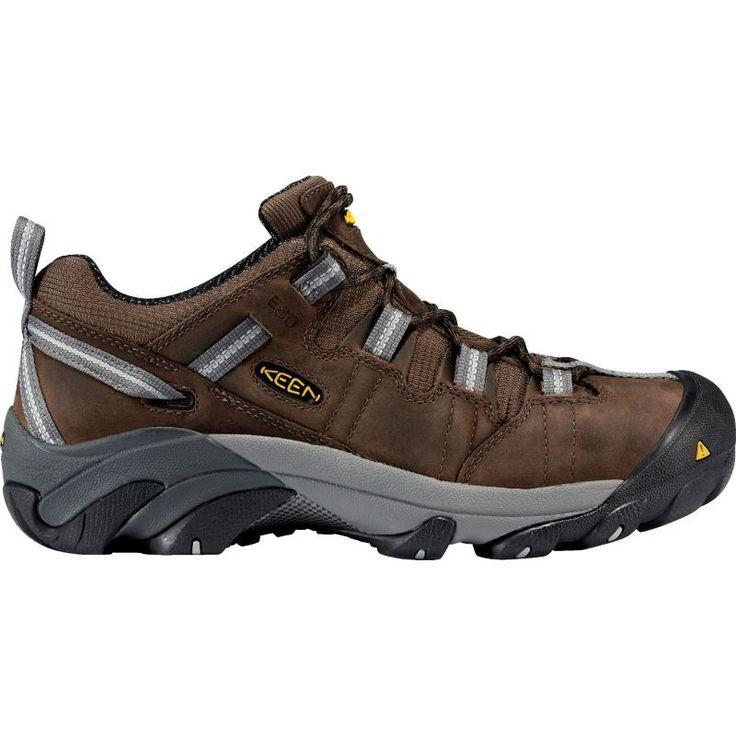 Keen Men's Detroit Low ESD Steel Toe Work Shoes, Brown