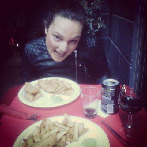 Fish and chips Puces de Saint Ouen