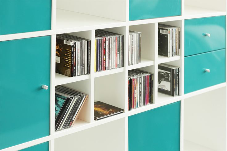 kallax regal cd einsatz turquoise happy and apps. Black Bedroom Furniture Sets. Home Design Ideas