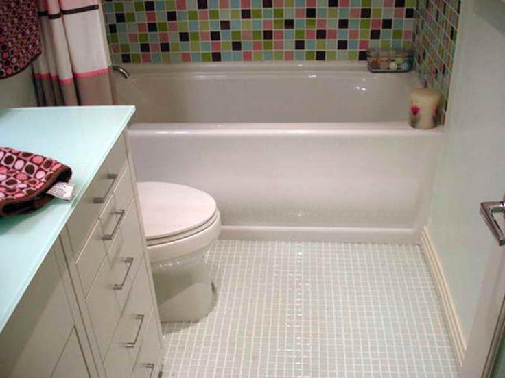 amazing bathroom flooring idea floor tile | 20 Best bathroom flooring ideas | Glass tile bathroom ...