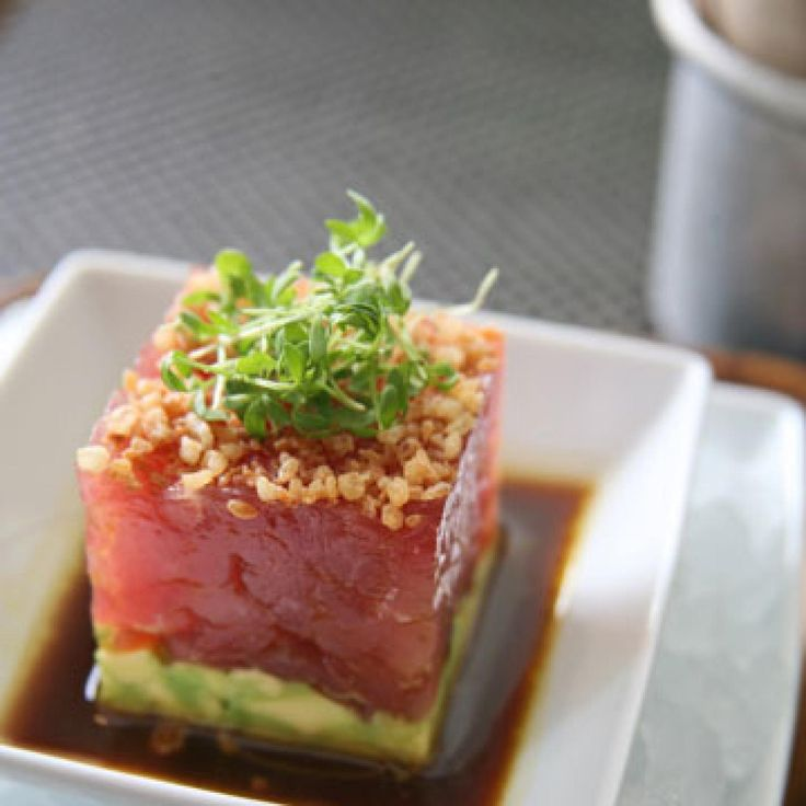 Blue Fin Tuna Tartare with Avocado and Soy Dressing - Fitnessmagazine.com