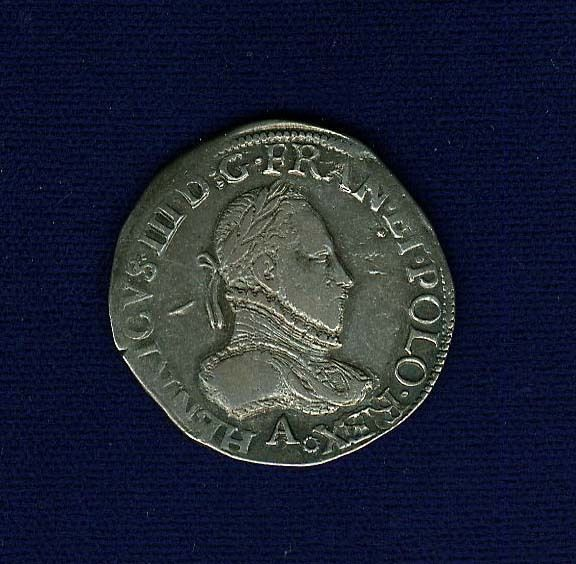 Item specifics     Circulated/Uncirculated:   Circulated   Composition:   Silver     Year:   1576   Country of Manufacture:   France      FRANCE  HENRY III  1576-A ...