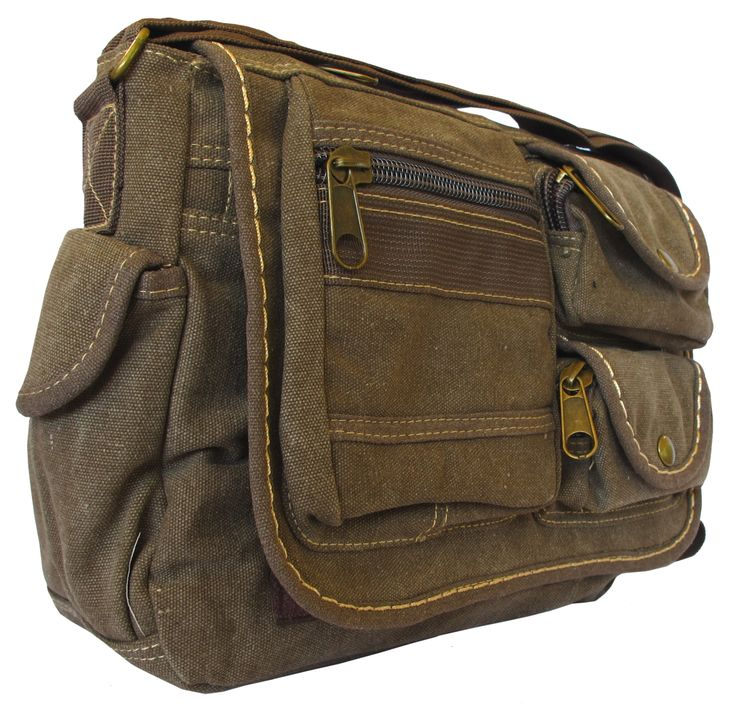 411 best Vintage Canvas Messenger Bags images on Pinterest