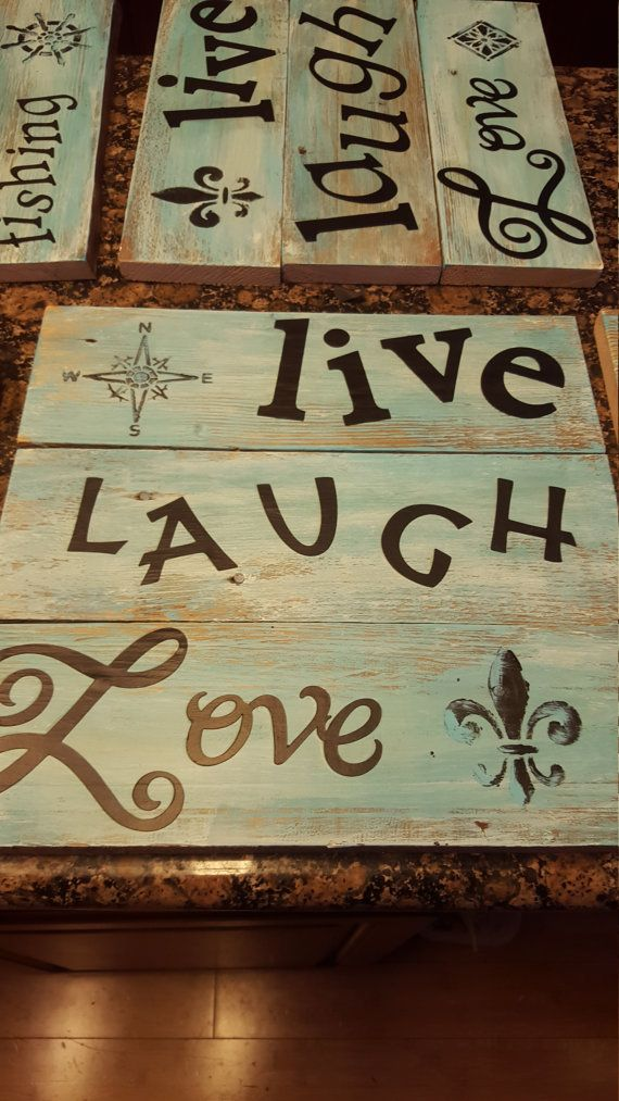 Check out this item in my Etsy shop https://www.etsy.com/listing/459228152/handmade-signs
