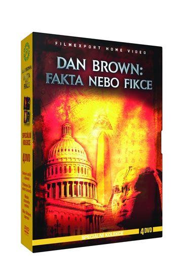 DVD Dan Brown: Fakta a fikce - Speciální kolekce - 4DVD | bux.cz