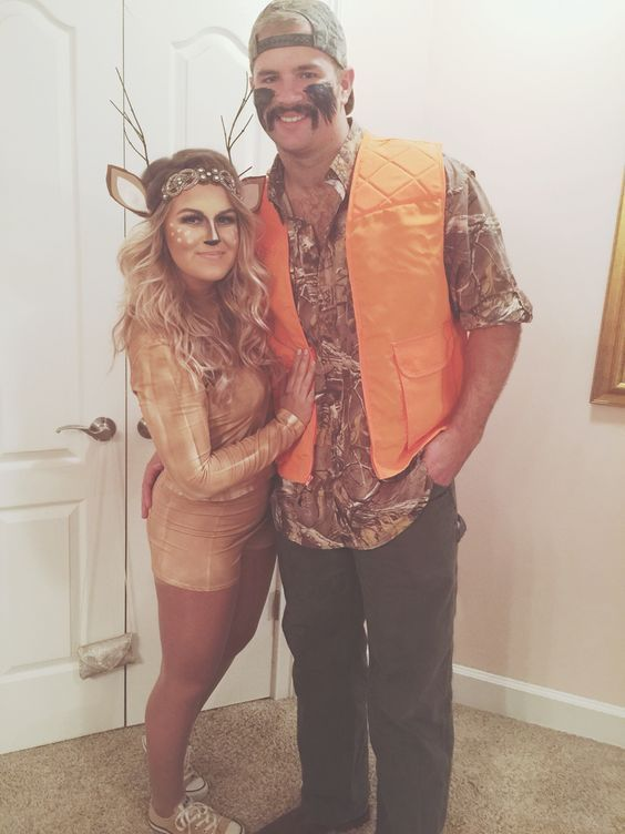 DIY Hunter & Deer Costume | Your Costume Idea for Halloween, Mardi Gras and Carnival