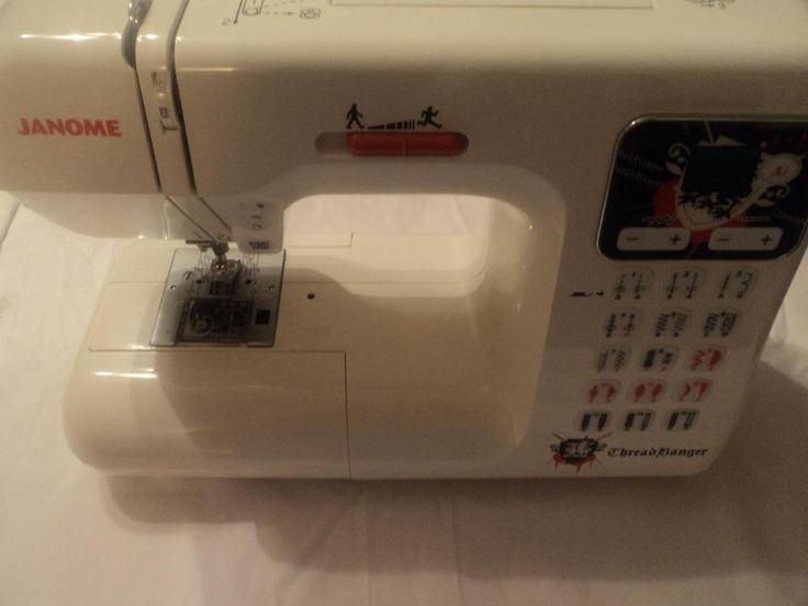 jANOME THREAD BANGER TB-30 SEWING MACHINE EUC (SHELF) #Janome