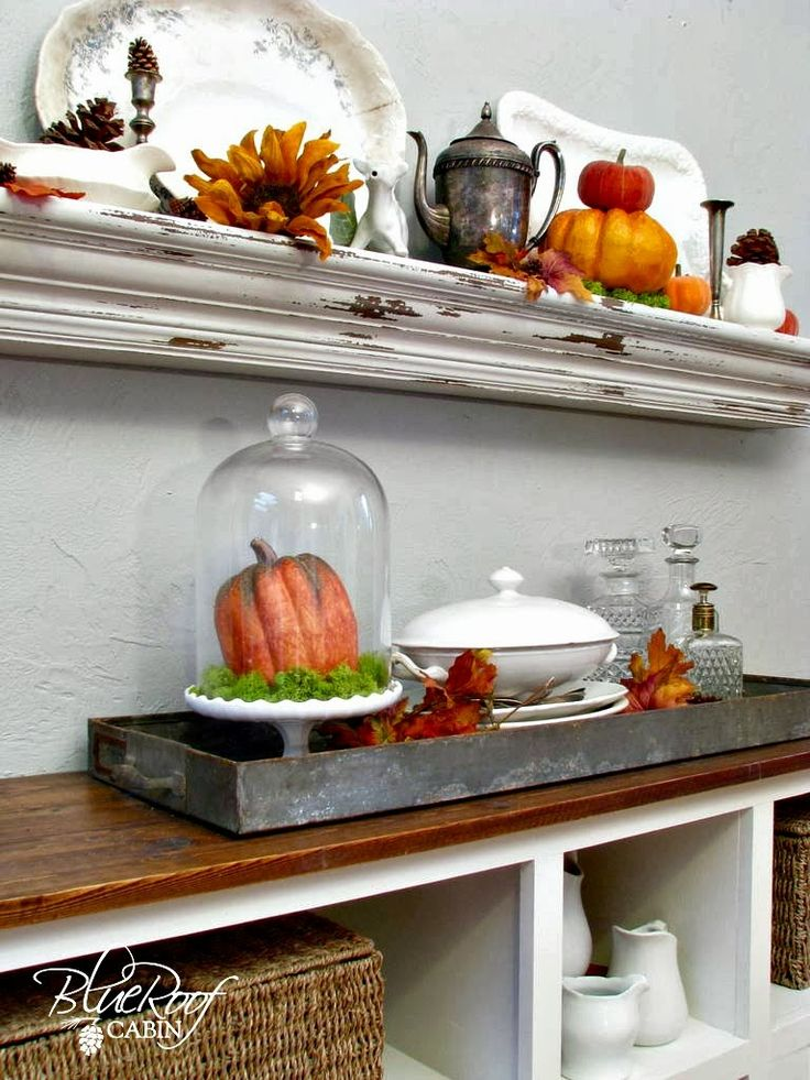 1000 Images About Fall Decor On Pinterest Shelves Mantels And Mantles