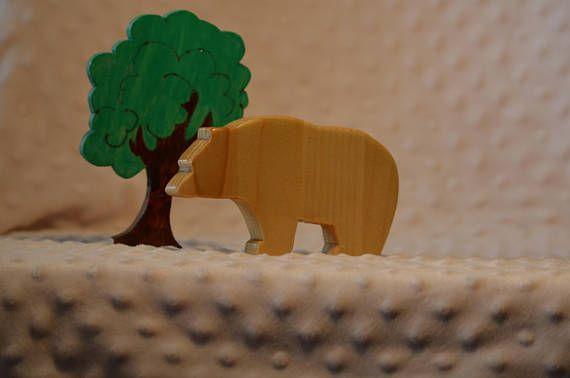 Waldorf Wooden Toys Organic Toys Play Set For Kids Waldorf