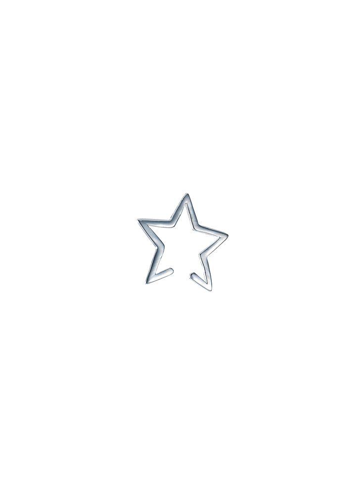 Star Cuff Silver