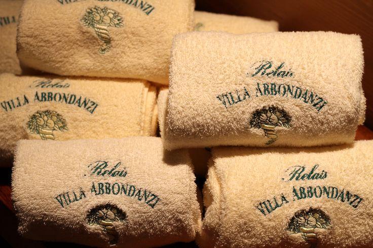 Gli asciugamani a vostra completa disposizione