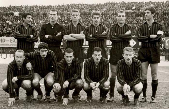 Il Grande Milan di Maldini, Rivera, Lodetti e Trapattoni