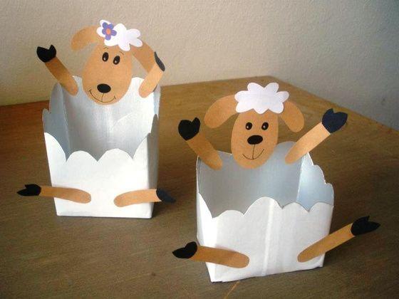 schapenbakjes voor kleuters