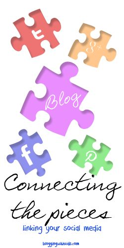 Connecting the pieces - adding social media icons to your blog