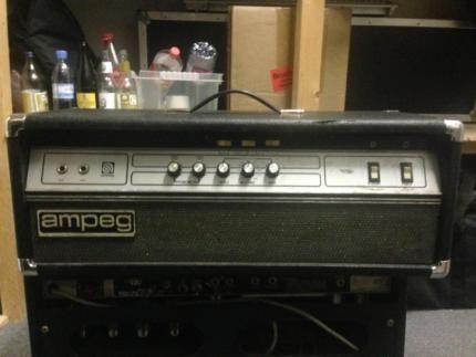 Original Ampeg V4B Verstärker Amplifier Vollröhre 100