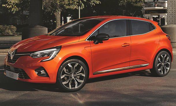 New Renault Clio 2019 Kleinwagen Elektroauto Autos