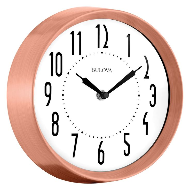 Bulova C4828 Cleaver Wall Clock - C4828