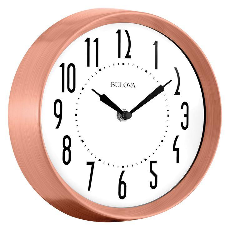 Bulova C4828 Cleaver Wall Clock - C4828