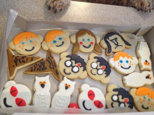I wouldn't know whether to eat them or hug them! Except ol' Voldymort of course..