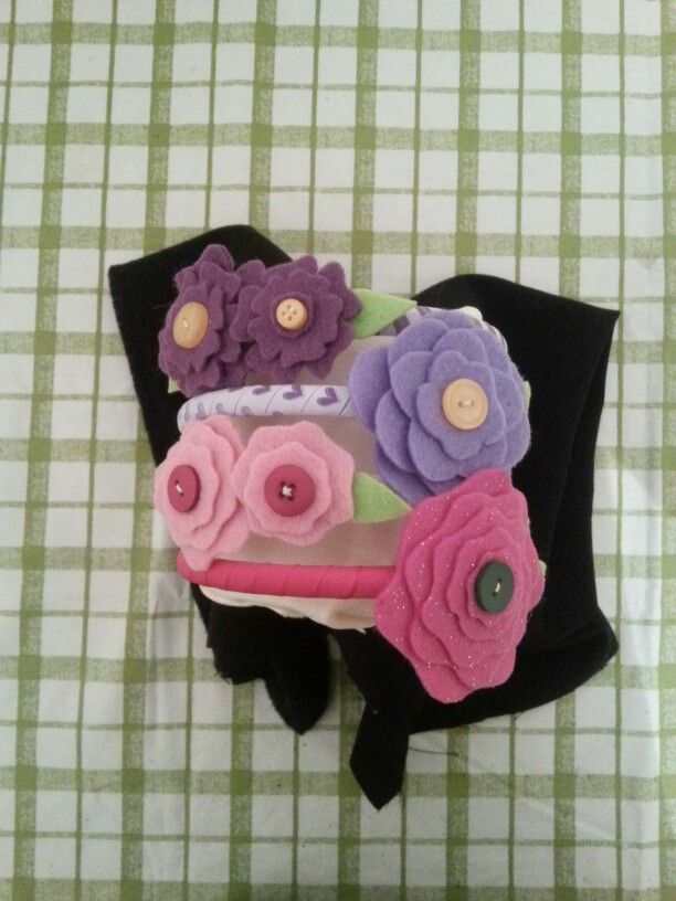 Felt Flower Head bands $3.50 plus shipping
