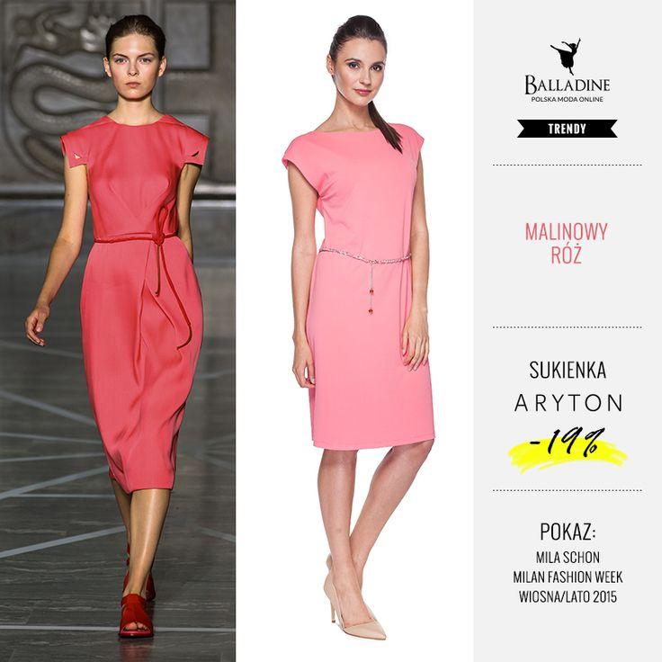 Różowa sukienka marki Aryton to świetny wybór na panujące upały. Możecie przewiązać ją w talii dołączonym paskiem. Jeżeli spodobała Wam się ta letnia propozycja to radzimy się spieszyć, pozostały ostatnie sztuki z wyprzedaży! >> http://goo.gl/J4TyxS