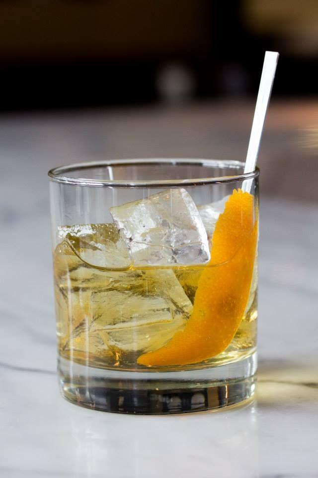 Full Metal Jack - Jack Daniel's whiskey, triple sec, Galliano #Luma #Toronto #Restaurant #Kubrick #Cocktail