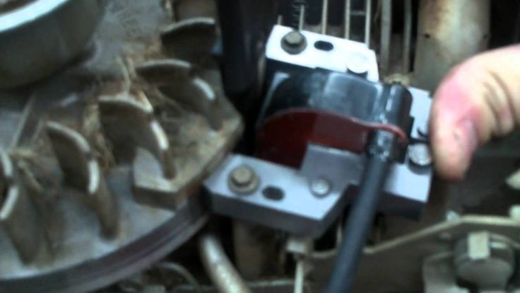 BRIGGS AND STRATTON ENGINE REPAIR how to replace the ignition module o...