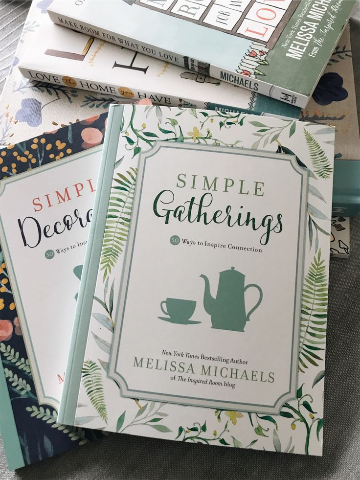Preorder Simple Gatherings and get The Inspired Room's entire ebook collection for free!!!