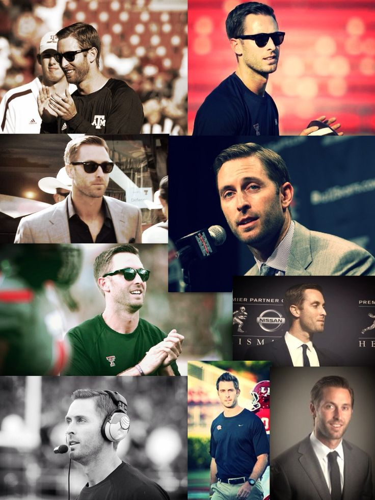 Really? Kliff Kingsbury is a football coach at a Texas Tech. Was there just an increase in female audiences at the game?