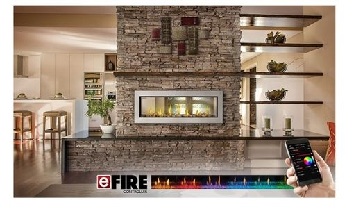 Vector Lv50 Linear Gas Fireplace Direct Vent By Napoleon Gas