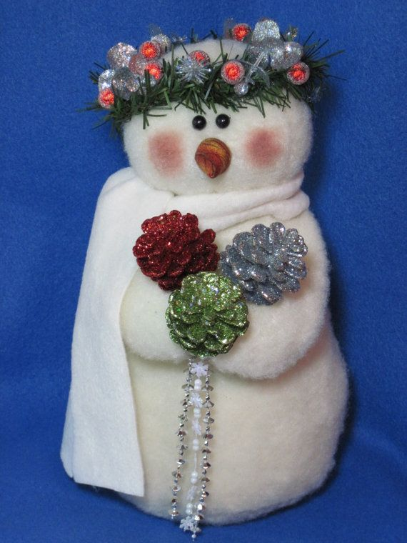 Snowman pattern:  Snow Princess  608