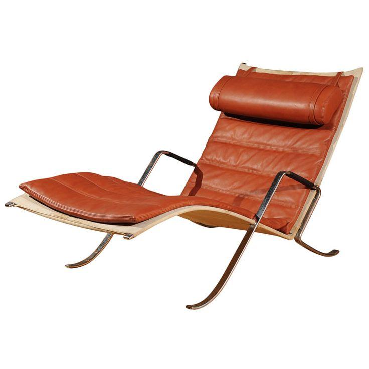 Preben Fabricius and Jorgen Kastholm Grasshopper Lounge Chair
