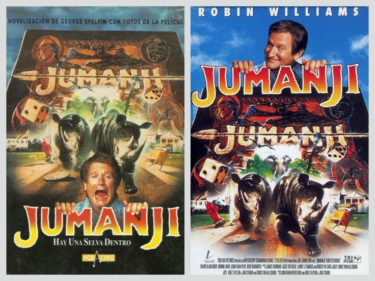 George Spelvin - Jumanji (Book vs Film)