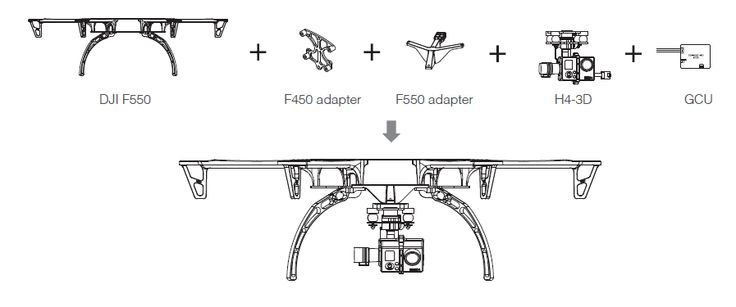 f550 user manuals google search drone construction. Black Bedroom Furniture Sets. Home Design Ideas