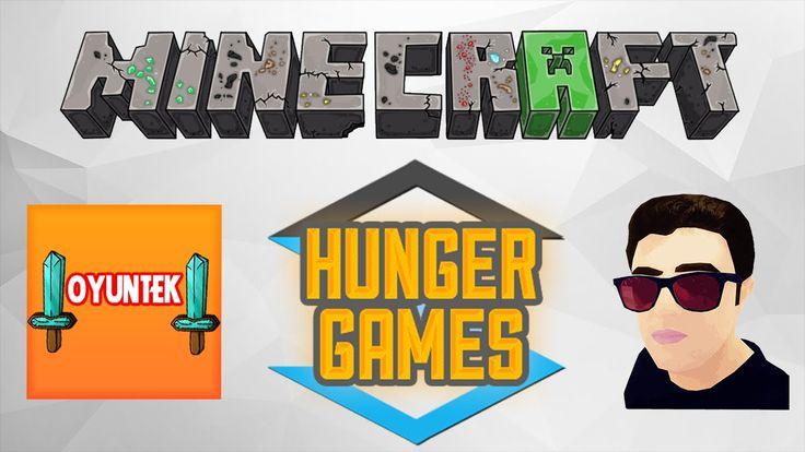 Minecraft Hunger Games | Kaçmayın Zibidiler :) | w/OyunTek