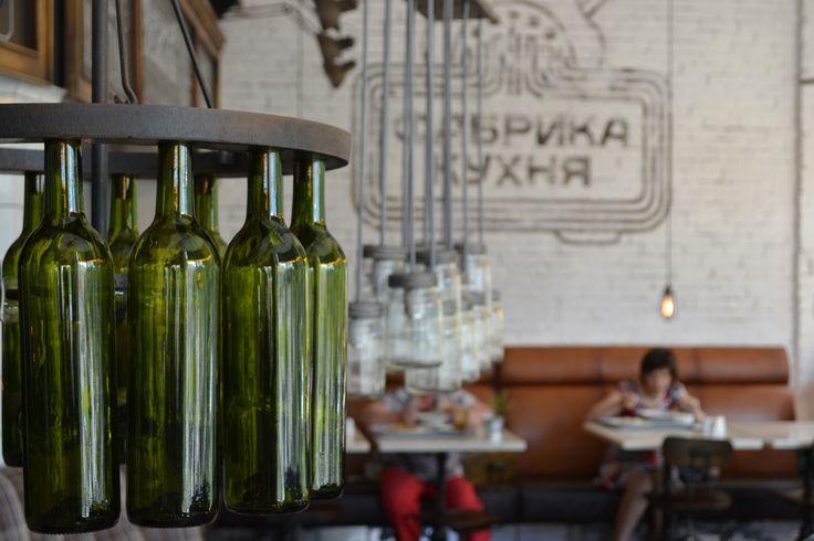 Uralskie Pelmeny, a trendy little Russian food hub with modern industrial aesthetic in Yekaterinbug, Russia