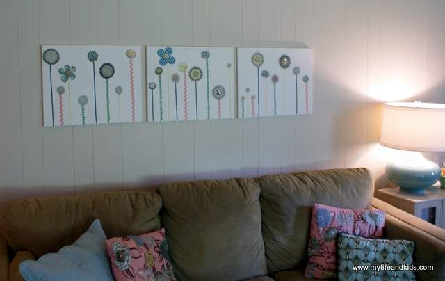 Scrapbook Wall Art